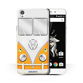 STUFF4 Phone Case/Cover for OnePlus X/Orange Design/VW Camper Van Collection Mobile phones
