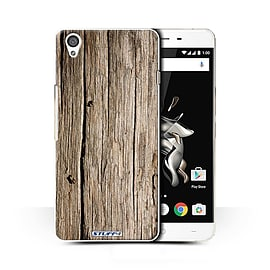 STUFF4 Phone Case/Cover for OnePlus X/Driftwood Design/Wood Grain Effect/Pattern Collection Mobile phones