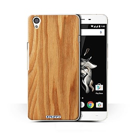 STUFF4 Phone Case/Cover for OnePlus X/Oak Design/Wood Grain Effect/Pattern Collection Mobile phones