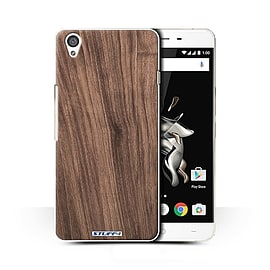 STUFF4 Phone Case/Cover for OnePlus X/Walnut Design/Wood Grain Effect/Pattern Collection Mobile phones
