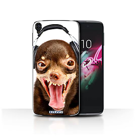 STUFF4 Phone Case/Cover for Alcatel OneTouch Idol 3 4.7/Ridiculous Dog/Funny Animals Collection Mobile phones
