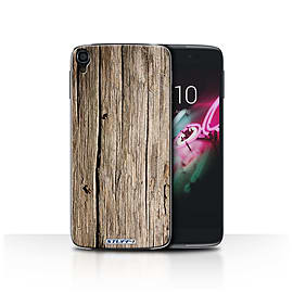 STUFF4 Phone Case/Cover for Alcatel OneTouch Idol 3 4.7/Driftwood/Wood Grain Effect/Pattern Mobile phones