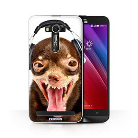 STUFF4 Phone Case/Cover for Asus Zenfone 2 Laser ZE600KL/Ridiculous Dog/Funny Animals Collection Mobile phones