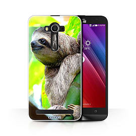 STUFF4 Phone Case/Cover for Asus Zenfone 2 Laser ZE600KL/Sloth Design/Wildlife Animals Collection Mobile phones