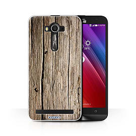 STUFF4 Phone Case/Cover for Asus Zenfone 2 Laser ZE600KL/Driftwood/Wood Grain Effect/Pattern Mobile phones