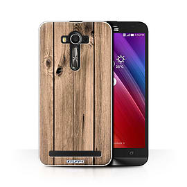 STUFF4 Phone Case/Cover for Asus Zenfone 2 Laser ZE600KL/Plank/Wood Grain Effect/Pattern Collection Mobile phones