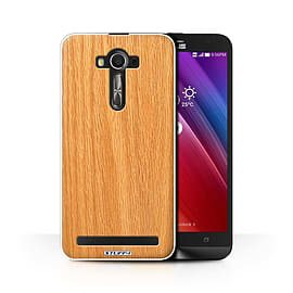 STUFF4 Phone Case/Cover for Asus Zenfone 2 Laser ZE601KL/Pine/Wood Grain Effect/Pattern Collection Mobile phones