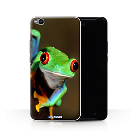 STUFF4 Phone Case/Cover for HTC One X9/Frog Design/Wildlife Animals Collection Mobile phones