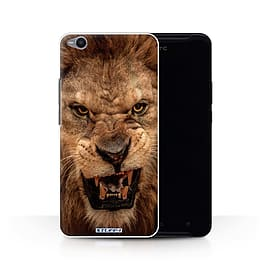 STUFF4 Phone Case/Cover for HTC One X9/Lion Design/Wildlife Animals Collection Mobile phones