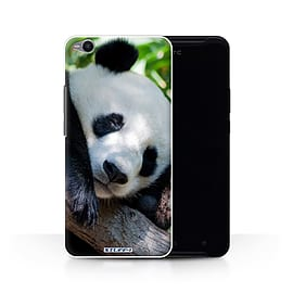 STUFF4 Phone Case/Cover for HTC One X9/Panda Bear Design/Wildlife Animals Collection Mobile phones