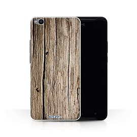 STUFF4 Phone Case/Cover for HTC One X9/Driftwood Design/Wood Grain Effect/Pattern Collection Mobile phones