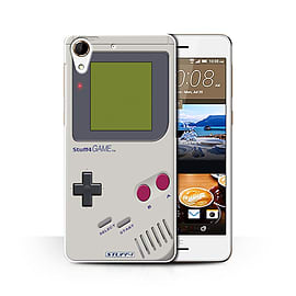 STUFF4 Phone Case/Cover for HTC Desire 728/Nintendo Game Boy Design/Games Console Collection Mobile phones