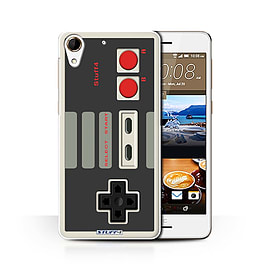 STUFF4 Phone Case/Cover for HTC Desire 728/Nintendo Classic Design/Games Console Collection Mobile phones