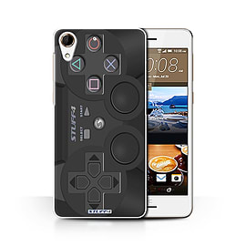STUFF4 Phone Case/Cover for HTC Desire 728/Playstation PS3 Design/Games Console Collection Mobile phones