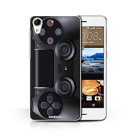 STUFF4 Phone Case/Cover for HTC Desire 728/Playstation PS4 Design/Games Console Collection Mobile phones
