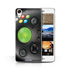 STUFF4 Phone Case/Cover for HTC Desire 728/Xbox Design/Games Console Collection Mobile phones