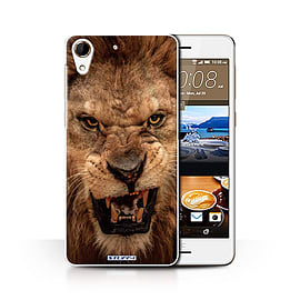 STUFF4 Phone Case/Cover for HTC Desire 728/Lion Design/Wildlife Animals Collection Mobile phones