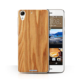 STUFF4 Phone Case/Cover for HTC Desire 728/Oak Design/Wood Grain Effect/Pattern Collection Mobile phones