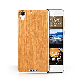 STUFF4 Phone Case/Cover for HTC Desire 728/Pine Design/Wood Grain Effect/Pattern Collection Mobile phones