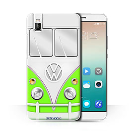 STUFF4 Phone Case/Cover for Huawei Honor 7i/ShotX/Green Design/VW Camper Van Collection Mobile phones