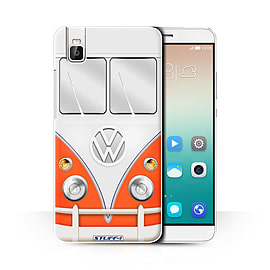 STUFF4 Phone Case/Cover for Huawei Honor 7i/ShotX/Red Design/VW Camper Van Collection Mobile phones