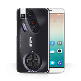 STUFF4 Phone Case/Cover for Huawei Honor 7i/ShotX/Sega Megadrive Design/Games Console Collection Mobile phones