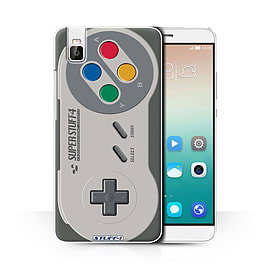 STUFF4 Phone Case/Cover for Huawei Honor 7i/ShotX/Super Nintendo Design/Games Console Collection Mobile phones