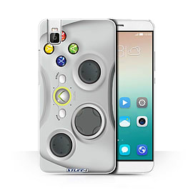 STUFF4 Phone Case/Cover for Huawei Honor 7i/ShotX/White Xbox 360 Design/Games Console Collection Mobile phones