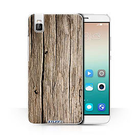 STUFF4 Phone Case/Cover for Huawei Honor 7i/ShotX/Driftwood/Wood Grain Effect/Pattern Collection Mobile phones