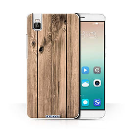 STUFF4 Phone Case/Cover for Huawei Honor 7i/ShotX/Plank Design/Wood Grain Effect/Pattern Collection Mobile phones