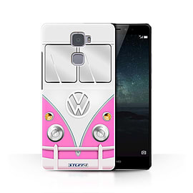 STUFF4 Phone Case/Cover for Huawei Mate S/Pink Design/VW Camper Van Collection Mobile phones