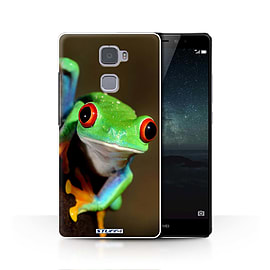 STUFF4 Phone Case/Cover for Huawei Mate S/Frog Design/Wildlife Animals Collection Mobile phones