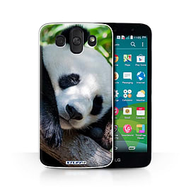 STUFF4 Phone Case/Cover for LG AKA/H788/Panda Bear Design/Wildlife Animals Collection Mobile phones