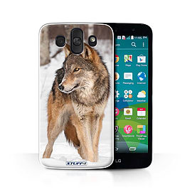 STUFF4 Phone Case/Cover for LG AKA/H788/Wolf Design/Wildlife Animals Collection Mobile phones