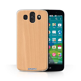 STUFF4 Phone Case/Cover for LG AKA/H788/Beech Design/Wood Grain Effect/Pattern Collection Mobile phones