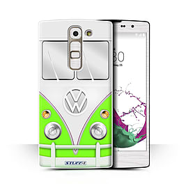 STUFF4 Phone Case/Cover for LG G4c/H525N/Green Design/VW Camper Van Collection Mobile phones