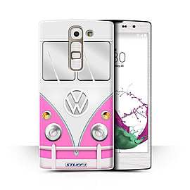 STUFF4 Phone Case/Cover for LG G4c/H525N/Pink Design/VW Camper Van Collection Mobile phones