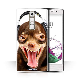 STUFF4 Phone Case/Cover for LG G4c/H525N/Ridiculous Dog Design/Funny Animals Collection Mobile phones