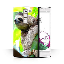 STUFF4 Phone Case/Cover for LG G4c/H525N/Sloth Design/Wildlife Animals Collection Mobile phones