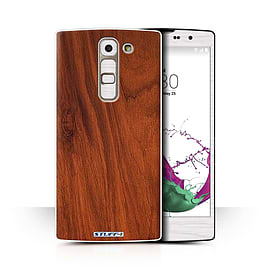 STUFF4 Phone Case/Cover for LG G4c/H525N/Mahogany Design/Wood Grain Effect/Pattern Collection Mobile phones