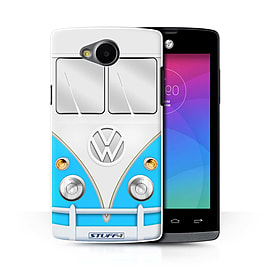 STUFF4 Phone Case/Cover for LG Joy/H220/Blue Design/VW Camper Van Collection Mobile phones