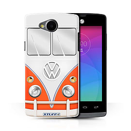 STUFF4 Phone Case/Cover for LG Joy/H220/Red Design/VW Camper Van Collection Mobile phones