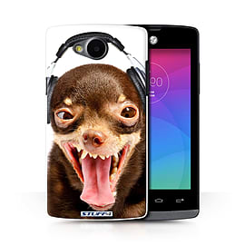 STUFF4 Phone Case/Cover for LG Joy/H220/Ridiculous Dog Design/Funny Animals Collection Mobile phones