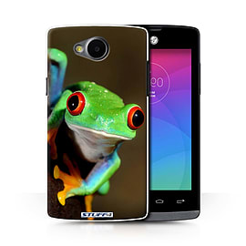STUFF4 Phone Case/Cover for LG Joy/H220/Frog Design/Wildlife Animals Collection Mobile phones