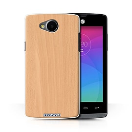 STUFF4 Phone Case/Cover for LG Joy/H220/Beech Design/Wood Grain Effect/Pattern Collection Mobile phones
