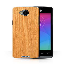 STUFF4 Phone Case/Cover for LG Joy/H220/Pine Design/Wood Grain Effect/Pattern Collection Mobile phones