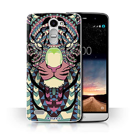 STUFF4 Phone Case/Cover for LG Ray/X190/Tiger-Colour Design/Aztec Animal Design Collection Mobile phones