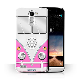 STUFF4 Phone Case/Cover for LG Ray/X190/Pink Design/VW Camper Van Collection Mobile phones