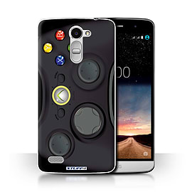 STUFF4 Phone Case/Cover for LG Ray/X190/Black Xbox 360 Design/Games Console Collection Mobile phones