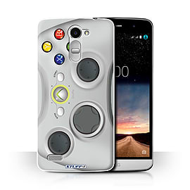 STUFF4 Phone Case/Cover for LG Ray/X190/White Xbox 360 Design/Games Console Collection Mobile phones